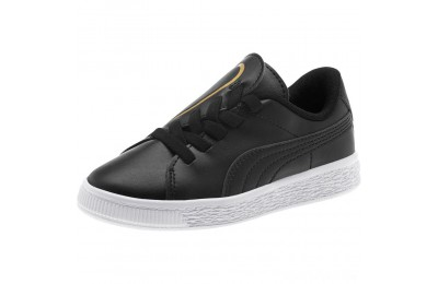 Puma Basket Crush AC Sneakers PS Black- Team Gold Sales