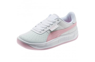 Puma California Sneakers JR Wht-Pale Pink- Wht Sales