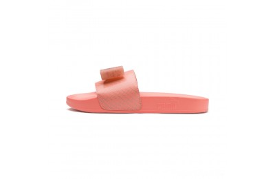 Puma Leadcat Jelly Bow Slide Sandals JRPeach Bud-Bright Peach Sales