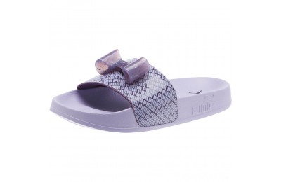 Puma Leadcat Jelly Bow Slide Sandals PSIndigo-Sweet Lavender Sales