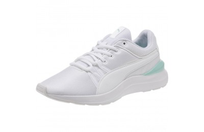 Puma Adela Girl's Sneakers JR White- White Sales