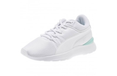 Puma Adela AC Girl's Sneakers PS White- White Sales