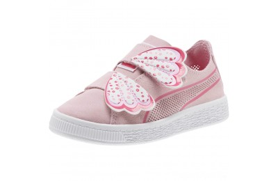 Puma Suede Deconstruct Butterfly Sneakers PSPale Pink-Fuchsia Purple Sales