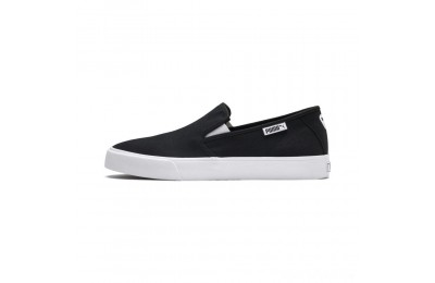 Puma Bari Slip-On Unisex Shoes Black- White Sales
