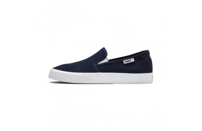 Puma Bari Slip-On Unisex Shoes Peacoat- White Sales