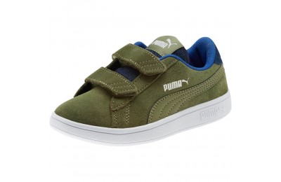 Puma PUMA Smash v2 Denim AC Sneakers PSOlivine-Surf The Web Sales