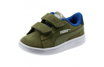 Puma PUMA Smash v2 Denim AC Sneakers INFOlivine-Surf The Web Sales