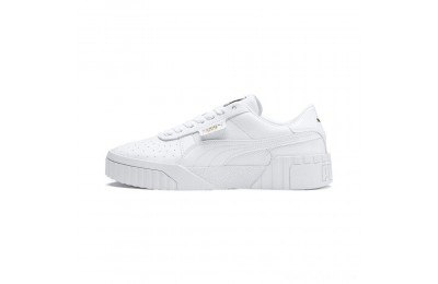 Puma Cali Women's Sneakers White- White Sales
