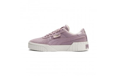 Puma Cali Nubuck Women's Sneakers Elderberry Sales