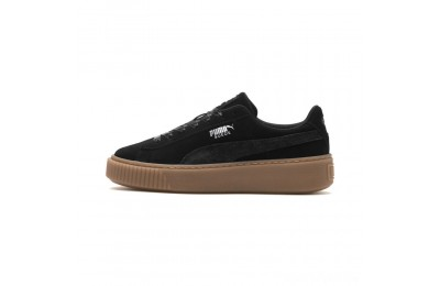 Puma Suede Platform Galaxy Women's Sneakers Black-Gum Sales