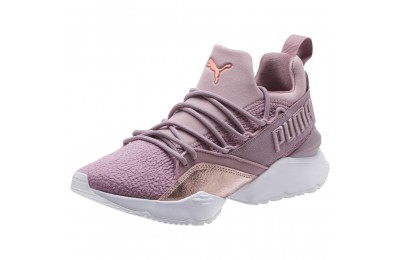 Puma Muse Maia Bio Hacking Women's Sneakers Elderberry-Bright Peach Sales