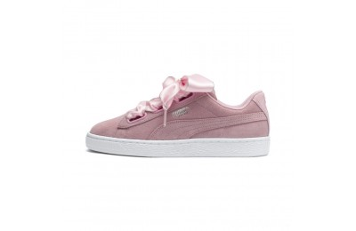 Puma Suede Heart Galaxy Women's Sneakers Pale Pink- Silver Sales