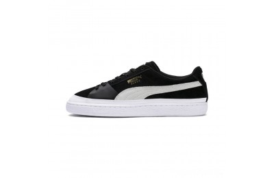 Puma Suede Skate Sneakers Black- White Sales