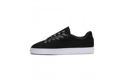 Puma Suede Crush Women's Sneakers Black- Black Sales