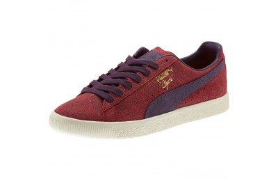 Puma Clyde Paisley Sneakers Brbds Chery-Indigo-Whspr Wht Sales