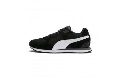 Puma Vista Sneakers Black-White-Charcoal Gray Sales