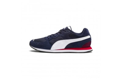 Puma Vista Sneakers Peacoat- White-Red Sales