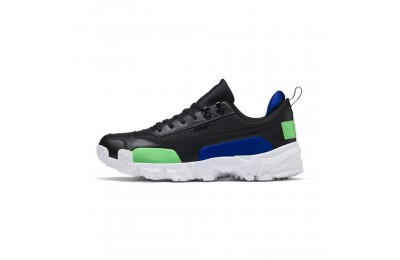 Puma Trailfox Leather Sneakers Black-Irish Green Sales