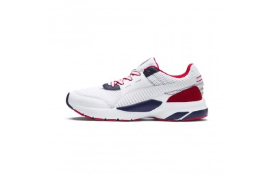 Puma Future Runner Premium Sneakers White-Peacoat-Red Sales