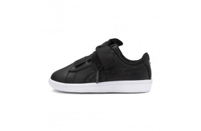 Puma PUMA Vikky Ribbon Satin AC Sneakers PS Black- Silver-White Sales