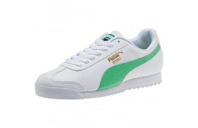Puma Roma Basic + Sneakers White-Irish Green Sales