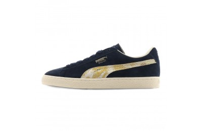 Puma Suede MIJ Sneakers Peacoat- Team Gold Sales