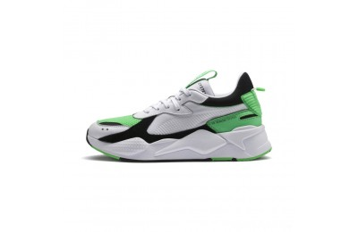 Puma RS-X Reinvention Men's Sneakers White-Irish Green Sales