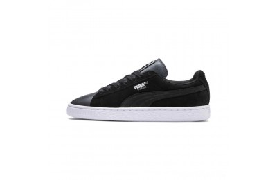 Puma Suede Shimmer Women's Sneakers Black- White Sales