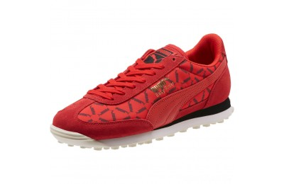 Puma Easy Rider Lux Running Shoes High Risk Red-Whisper White Sales