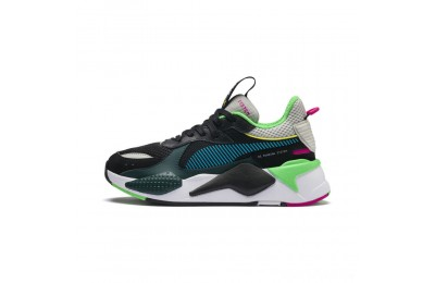 Puma RS-X Toys JR Black-Blue Atoll Sales