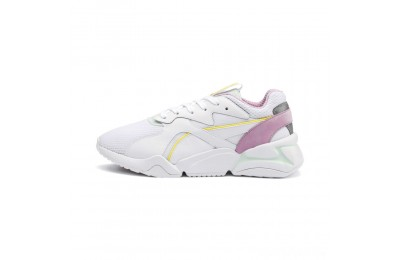 Puma Nova Mesh Women's Sneakers White-Fair Aqua Sales