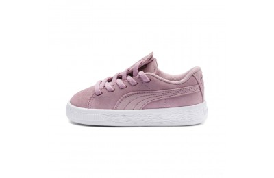 Puma Suede Crush AC Sneakers PSPale Pink- Silver Sales