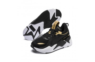 Puma RS-X Trophy JR Black- Team Gold Sales