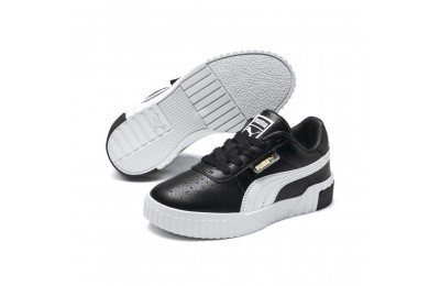 Puma Cali Sneakers PS Black- Team Gold Sales