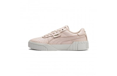 Puma Cali Emboss Women's Sneakers Cream Tan-Cream Tan Sales