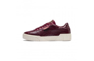 Puma Cali Croc Women's Sneakers Pomegranate-Pomegranate Sales