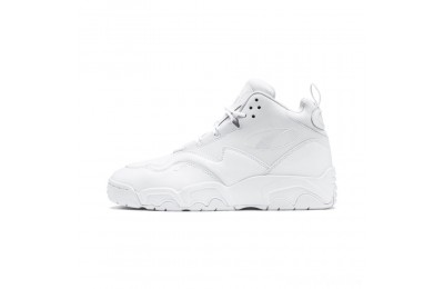 Puma Source Mid Sneakers Black- White Sales