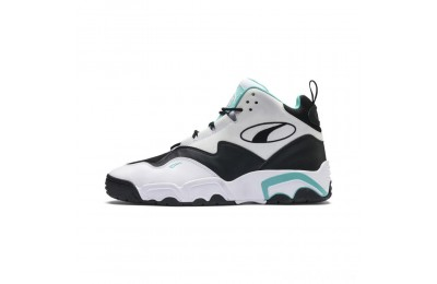 Puma Source Mid Sneakers White- Black-Blue Sales