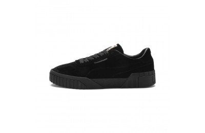 Puma Cali Velvet Women's Sneakers Black- Black Sales