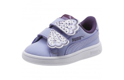 Puma PUMA Smash v2 Butterfly AC Sneakers INFSweet Lavender-Indigo-White Sales