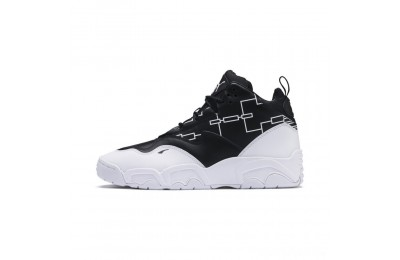 Puma Source Mid Bracket Sneakers Black- White Sales