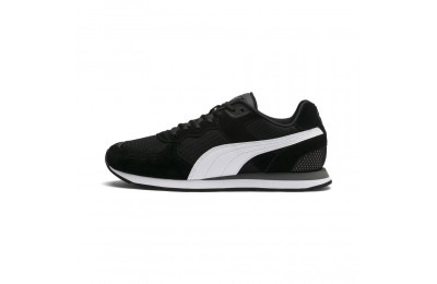 Puma Vista Women's Sneakers Black-White-Charcoal Gray Sales