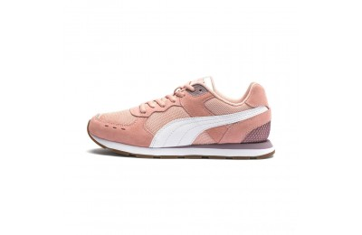 Puma Vista Women's Sneakers Peach Bud-White-Elderberry Sales