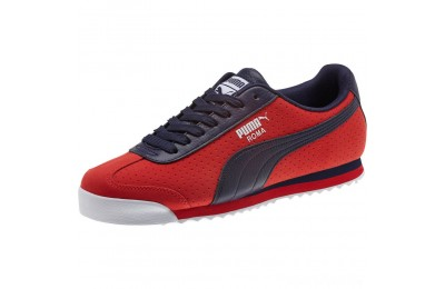 Puma Roma XTG Perf Men's Sneakers High Risk Red-Peacoat Sales