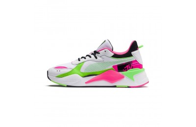 Puma RS-X Tracks MTV Bold Sneakers White- Black-802 C Sales
