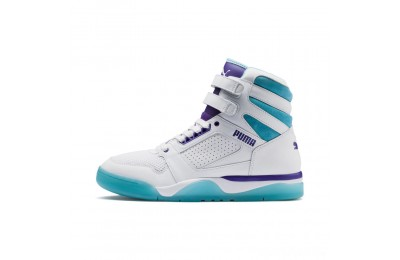 Puma Palace Guard Mid Queen City Sneakers White-Blue Atoll Sales