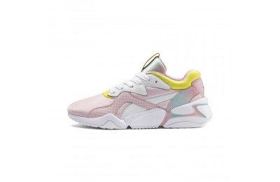Puma Nova x Barbie Women's Sneakers White-Orchid Pink Sales