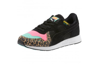 Puma RS-100 Party Cheetah Sneakers JRKNOCKOUT PINK- Black Sales