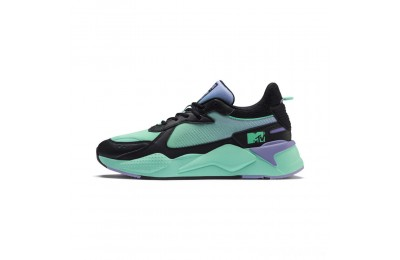 Puma RS-X Tracks MTV Gradient Gloom Sneakers Black-Sweet Lavender Sales