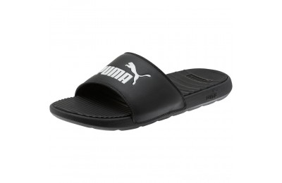 Puma Cool Cat Men's Slides Black- White Sales